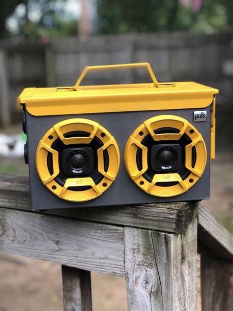 Waterproof Ammo Can Boombox