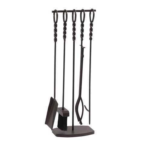 Waverly 5 Piece Steel Fireplace Tool Set