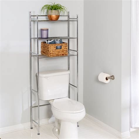 "Wayfair Basics 22.83"" W x 59.84"" H Over the Toilet Storage"