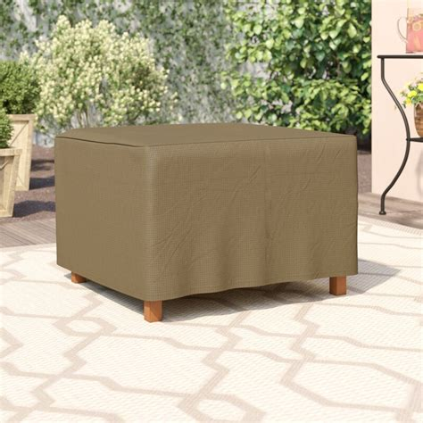 Wayfair Basics Square Patio Ottoman or Side Table Cover
