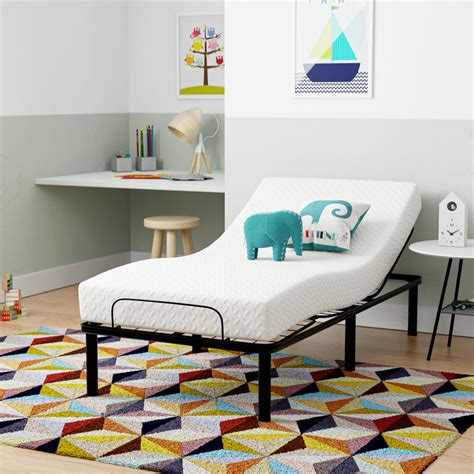 "Wayfair Sleep Gel 8"" Medium Memory Foam Mattress"