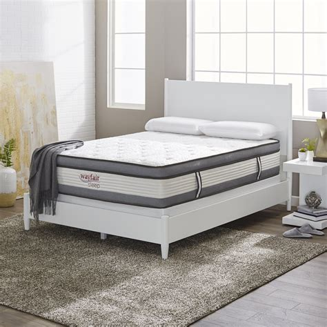 Wayfair Sleep Plush Hybrid Mattress