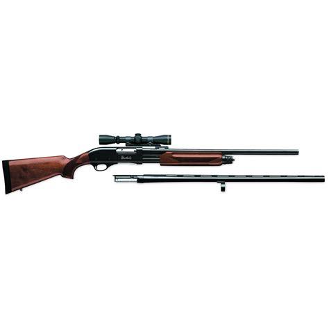 Weatherby Pa 08 Pump Action Shotgun Field Slug Combo