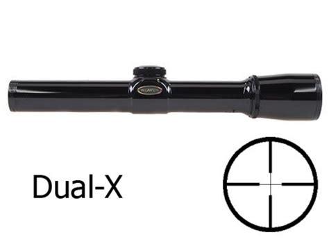 Rifle-Scopes Weaver Classic K-Series Rifle Scope 2.5x 20mm Dual-X Reticle Gloss.