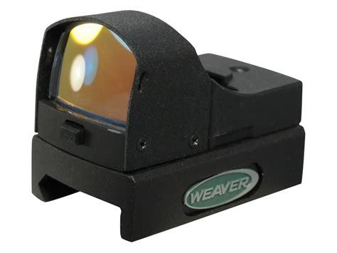 Weaver Micro Red Dot Reflex Sight