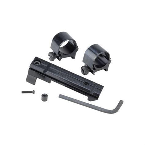 Weaver Nodrill Notap Mount System 301301s Blued Fits Ruger Bhawk Super Bhawk