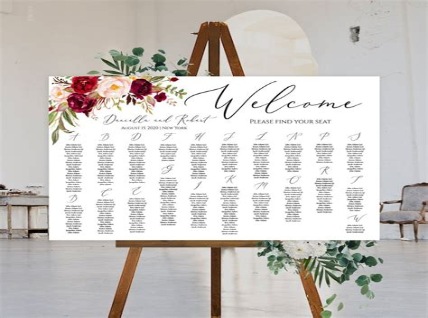 wedding seating chart program.aspx Image