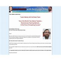Cash back for weekly hebrew classes with the dream team
