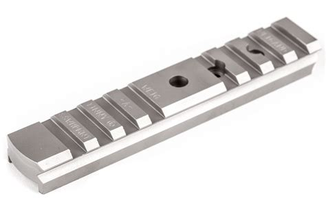 Weigand Stainless Steel Frame Scope Mount For Smith