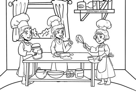 Weihnachtsbäckerei Malvorlagen
