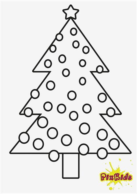 Weihnachtsbaum Malvorlage Zum Ausdrucken