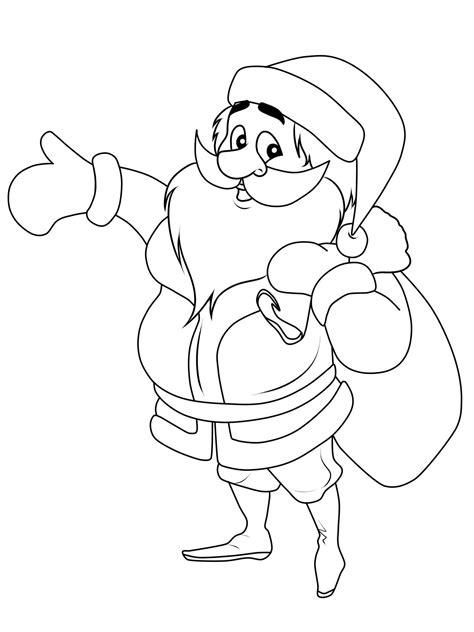 Weihnachtsmann Ausmalbilder