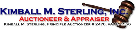 Welcome To Kimball Sterling Inc Auctioneer
