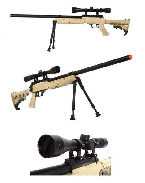 Well Aps Sr2 Modular Bolt Action Airsoft Sniper Rifle