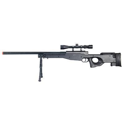 Wellfire Airsoft L96 Awp Sniper Rifle W Scope