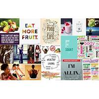 Wellness living vision board compare