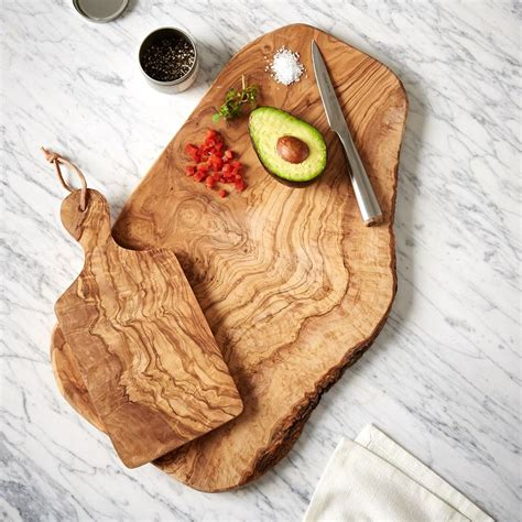west elm olive wood cutting board