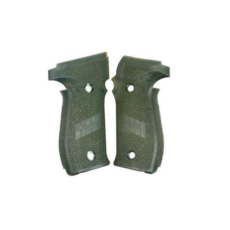 West German Sig P226 Od Green Grips