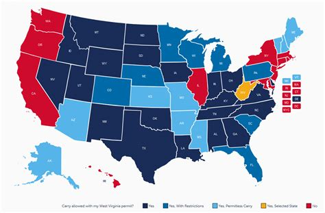 West Virginia Handgun Carry Laws