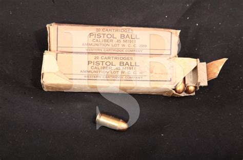 Western Cartridge Co 45 M1911 Ammo 6308