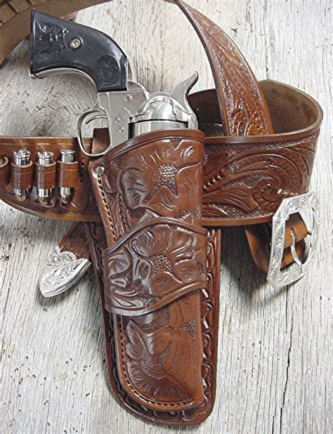 Western Movie Holsters Old West Leather Buckles Cowboy
