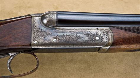 Westley Richards Double Barrel Shotgun