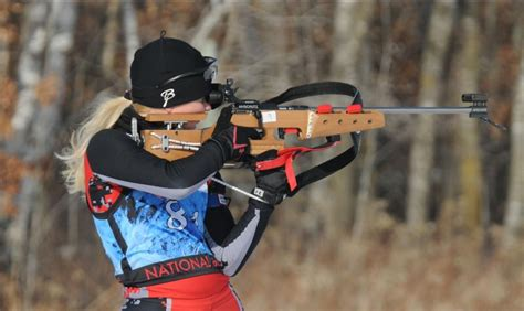 What Caliber Rifle Do They Use In Olympic Biathalon