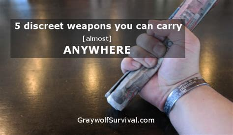 What Can I Legally Carry For Self Defense