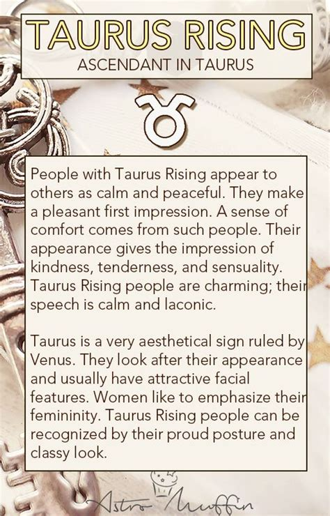 Taurus-Question What Does It Mean To Have Taurus Rising.