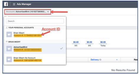 What Is Facebook Ad Account Id