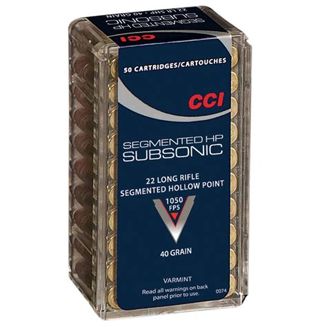 What Is Subsonic 22 Ammo Speed