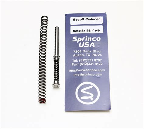 Beretta-Question What Is The Best Recoil Sping For A Beretta 92.