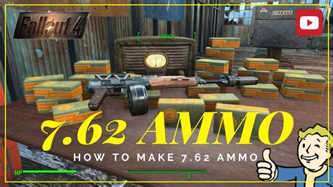 What Is The Code For 7 62 Ammo In Fallout 4
