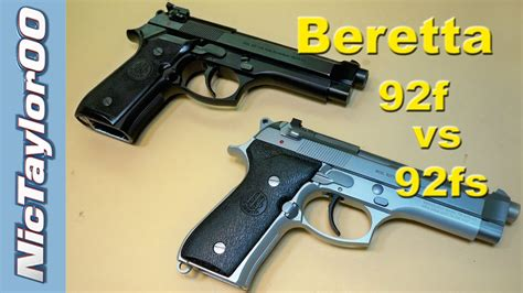 Beretta-Question What Is The Difference Between A Beretta 92f And 92fs.