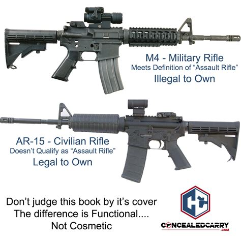 What The Difference Between An Assault Rifle