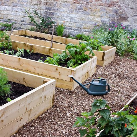 What is a raised garden bed Image
