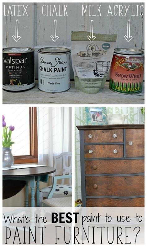 What kind of paint to use on wood dresser Image