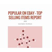 What to sell on ebay 2016 top selling items data report guide