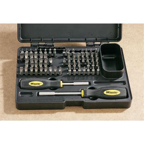 Wheeler 72 Pc Professional Gunsmithing Screwdriver Set