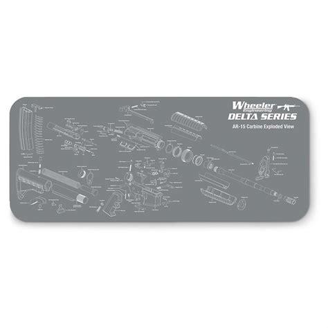 Wheeler Delta Series AR Maintenance Mat MGW