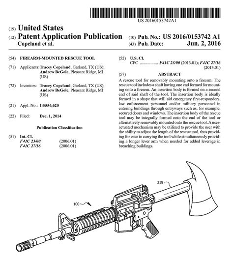 When Did The Patent Expire On Ar15