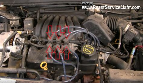 Taurus-Question Where Is The Ignition Coil Located On1995 Ford Taurus.