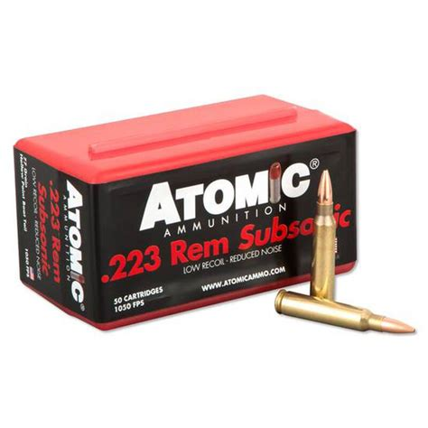 Where To Buy Subsonic 223 Ammo