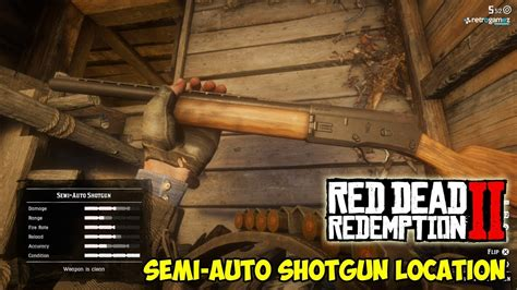 Where To Get The Semi Shotgun In Red Dead Redemption