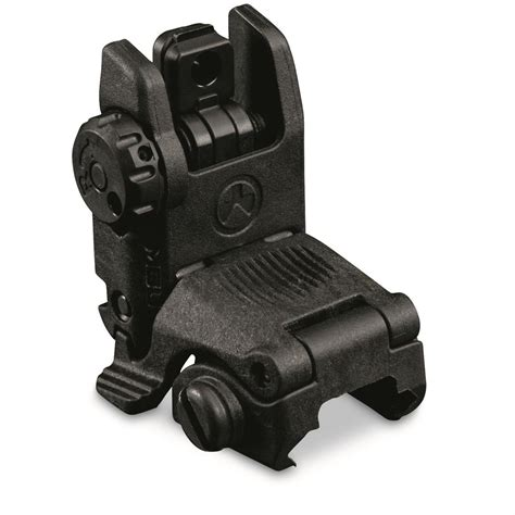 Which Direction Does Magpul Mbus Front Sight
