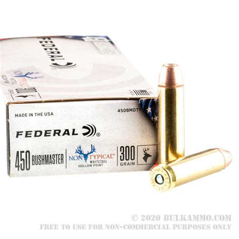 Which Federal 450 Bushmaster Ammo Is Best
