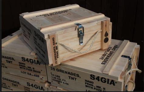 Whiskey Man Crate Ammo Box