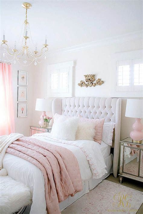 White And Pink Bedroom Ideas