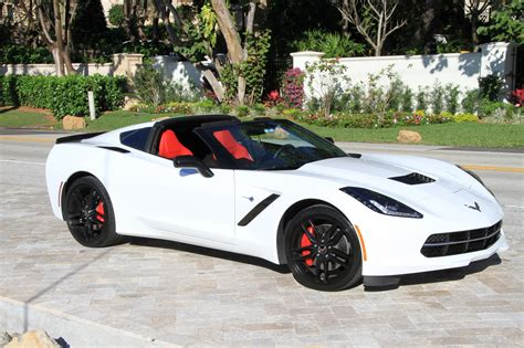 White Corvette Red Interior Make Your Own Beautiful  HD Wallpapers, Images Over 1000+ [ralydesign.ml]