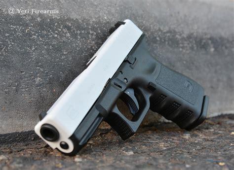 White Glock Slide